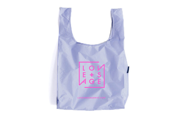 Lavender + Pink Reusable Tote