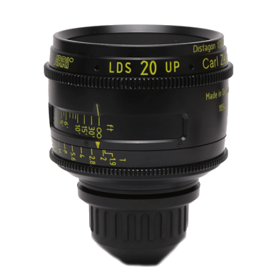 Arri-Zeiss PL Ultra Prime 20mm LDS T1.9 Lens