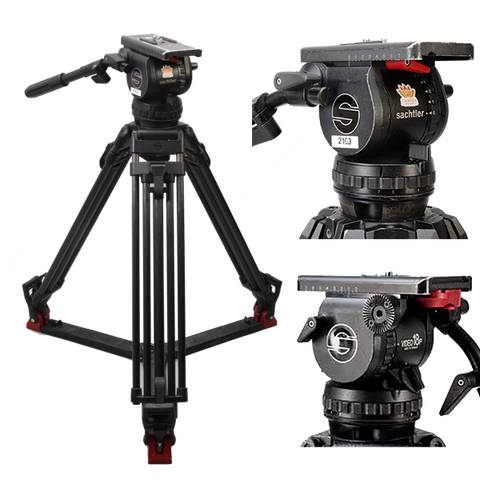Sachtler 18p 100mm Ball Head Tripod System
