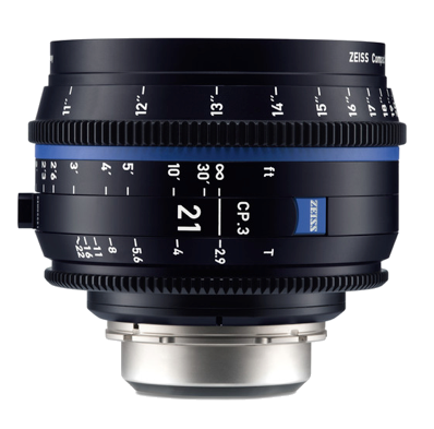 Zeiss EF CP.3 21mm T2.9 Lens