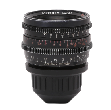 Zeiss PL Coated Super Speed MKII 25mm T1.3 Lens
