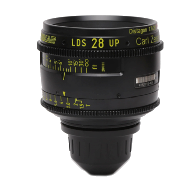 Arri-Zeiss PL Ultra Prime 28mm LDS T1.9 Lens