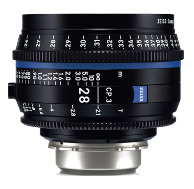 Zeiss EF CP.3 28mm T2.1 Lens