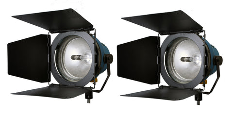 Arri Arrilite (2) 2000W Open Face Light Kit