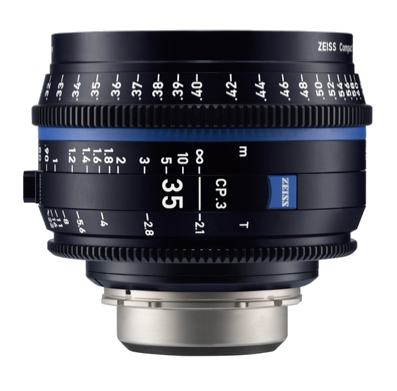 Zeiss EF CP.3 35mm T2.1 Lens