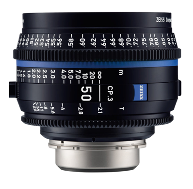 Zeiss EF CP.3 50mm T2.1 Lens