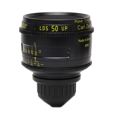 Arri-Zeiss PL Ultra Prime 50mm LDS T1.9 Lens