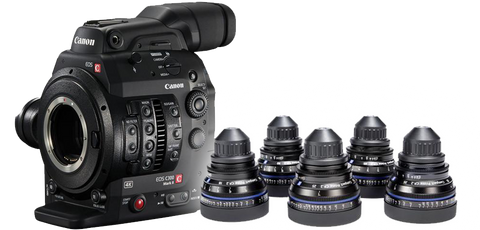 Canon C300II & Zeiss CP.2 Bundle