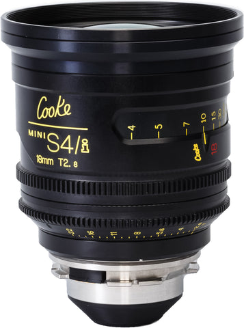 Cooke 18mm Mini S4/i T2.8 Prime Lens