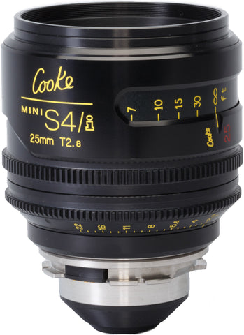 Cooke PL 25mm Mini S4/i T2.8 Prime Lens