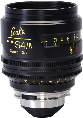 Cooke PL 32mm Mini S4/i T2.8 Prime Lens
