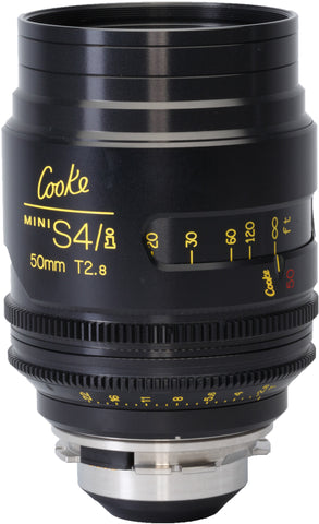 Cooke PL 50mm Mini S4/i T2.8 Prime Lens