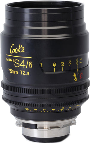 Cooke PL 75mm Mini S4/i T2.8 Prime Lens