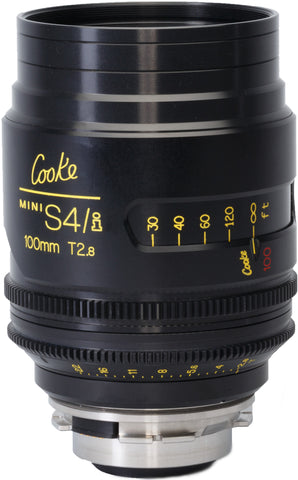 Cooke PL 100mm Mini S4/i T2.8 Prime Lens