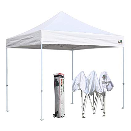 Euromax Canopy EZ-Up Tent With (4) Walls