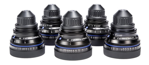 Zeiss CP.2 5 Lens Kit