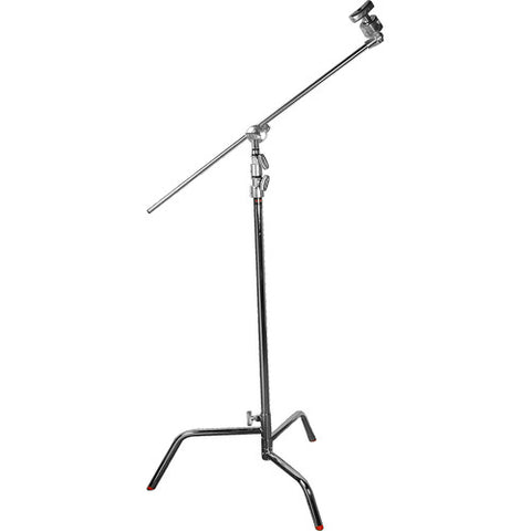 "Matthews C-stand With Gobo Head & 40"" Arm (Silver, Sliding Leg)"