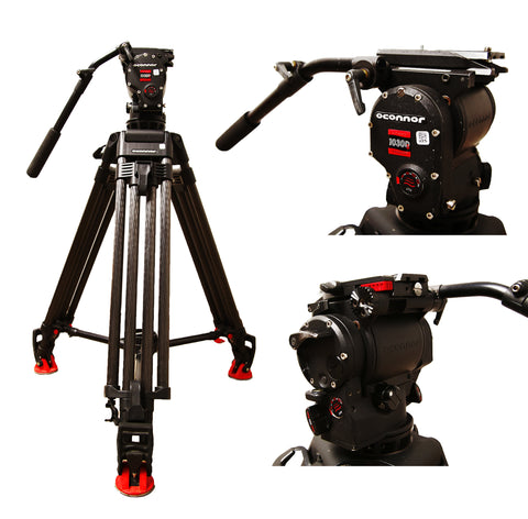 O'Connor 1030Ds 100mm Ball Head Tripod System