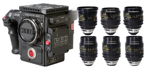 Red Helium 8K (Weapon 8K) & Cooke S4/I Mini Cinema Bundle