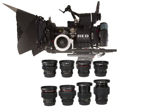 Red Epic Dragon & Canon FD Cinema Bundle