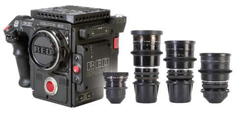 Red Epic-W Helium 8K & Kowa Anamorphic Cinema Bundle