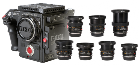Red Weapon Helium 8K & Leica R Cinema Bundle