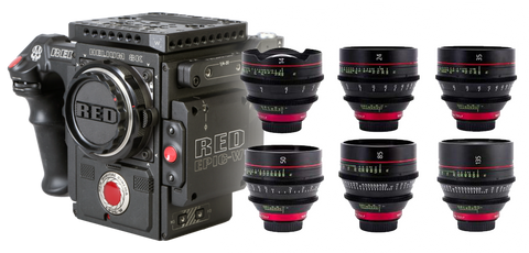 Red Weapon Helium 8K & Canon CN-E Cinema Bundle
