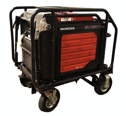 Honda EU6500 IS Generator With Bates 60 Amp Out