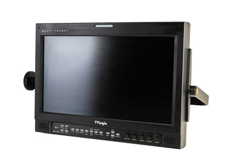 "TV Logic 17"" Field Monitor with V-Mount Battery Plate"