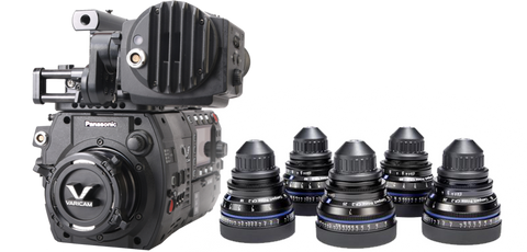 Panasonic VariCam 35 & Zeiss CP.2 Cinema Bundle