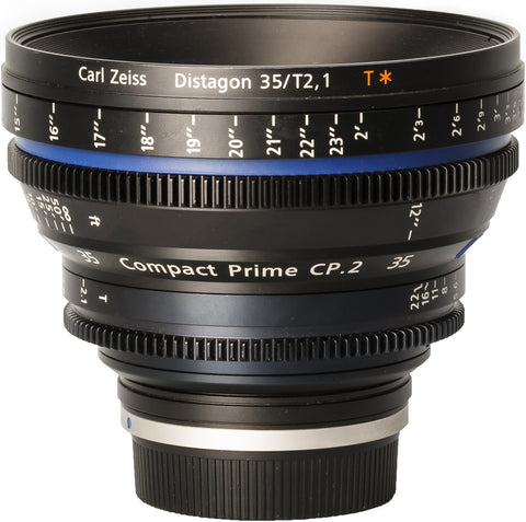 Zeiss CP.2 35mm T2.1 Compact Prime Lens