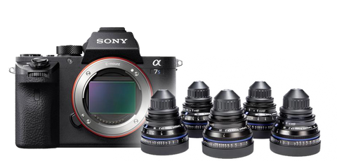Sony A7S II & Zeiss CP.2 Bundle