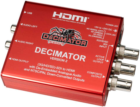 Decimator Design MD-QUAD V2 SDI Splitter