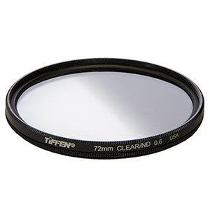 Tiffen 72mm Clear / ND.6 Screw-On Filter