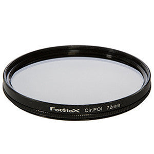 Fotodiox 72mm Circular Polarizer Screw-On Filter