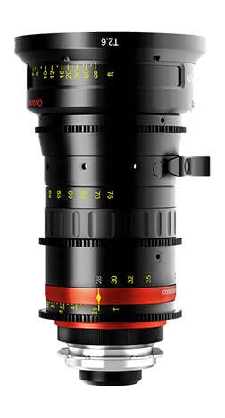 Angenieux 28 - 76mm Optimo T2.6 Zoom Lens