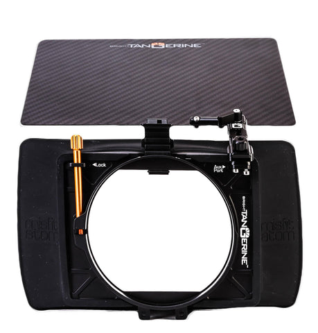 Bright Tangerine Misfit Atom 4x5.65/4x4 Ultra Lightweight 2-Stage Clip-On Matte Box