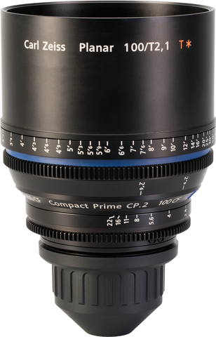 Zeiss CP.2 100mm T2.1 Compact Prime Lens