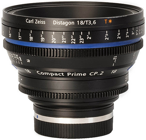 Zeiss CP.2 18mm T3.6 Compact Prime Lens