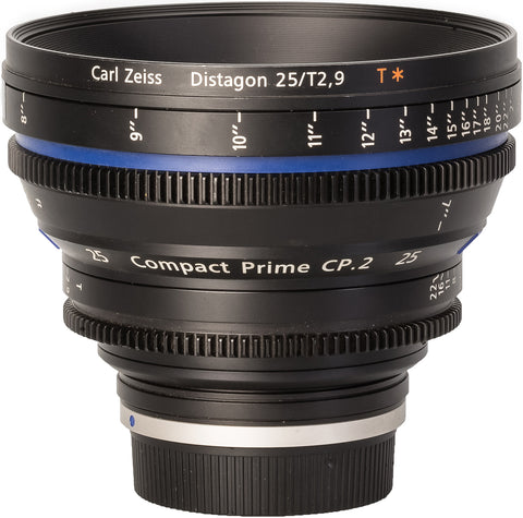 Zeiss CP.2 25mm T2.9 Compact Prime Lens
