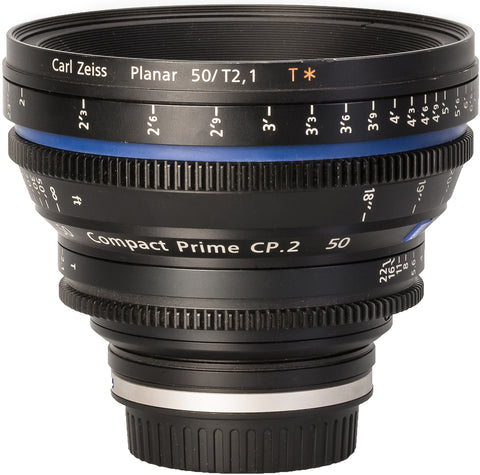 Zeiss CP.2 50mm T2.1 Compact Prime Lens