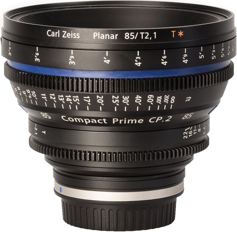 Zeiss CP.2 85mm T2.1 Compact Prime Lens