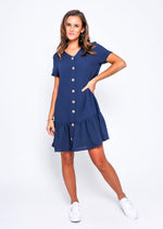 Everything Dress - Leoni Navy
