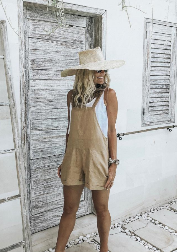 HARLEY OVERALLS - SAND