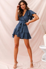 Alexis Dress in Midnight