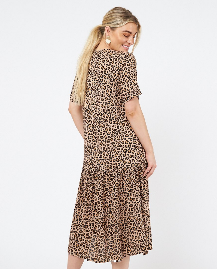 Hayden Leopard Dress