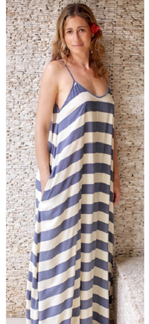 Monika Stripe Maxi Dress