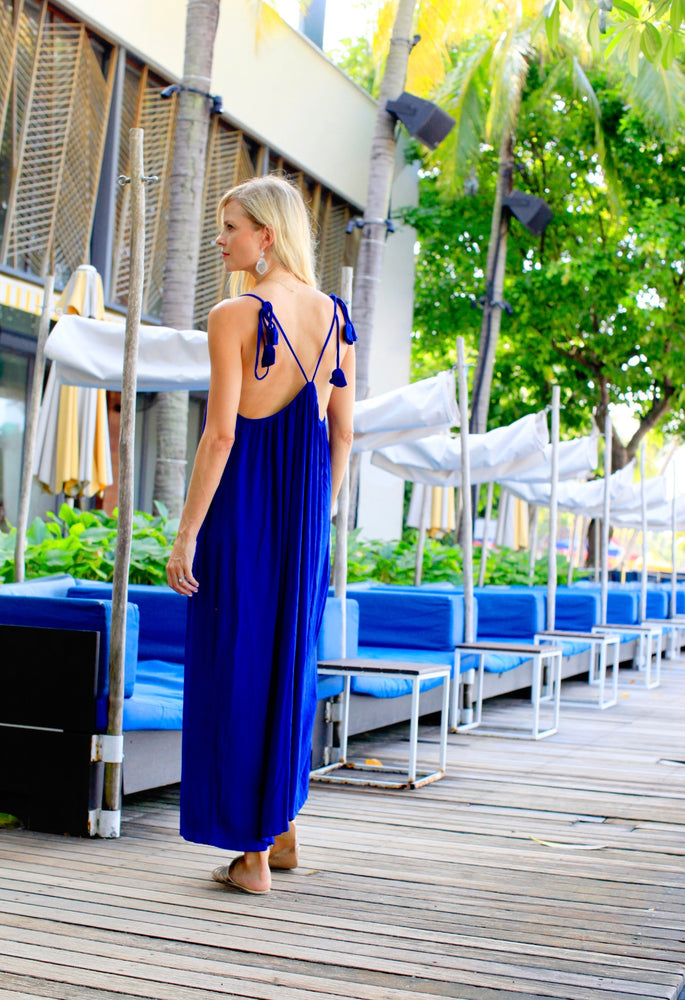New York Jumpsuit - Electric Blue