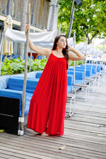 New York Jumpsuit - Red