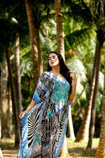 Kruger Black Long Kaftan
